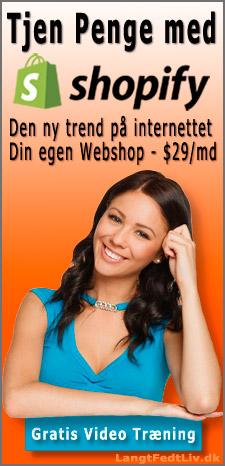 Tjen Penge Med shopify